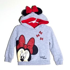 Disney Primark Minnie Mouse Hoodie Sweatshirt 2/3